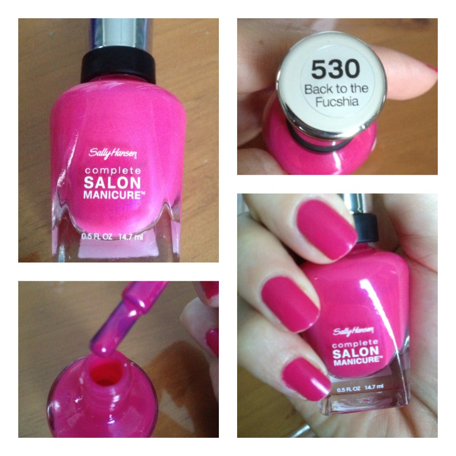 Sally Hansen #530 Back to the Fuchsia